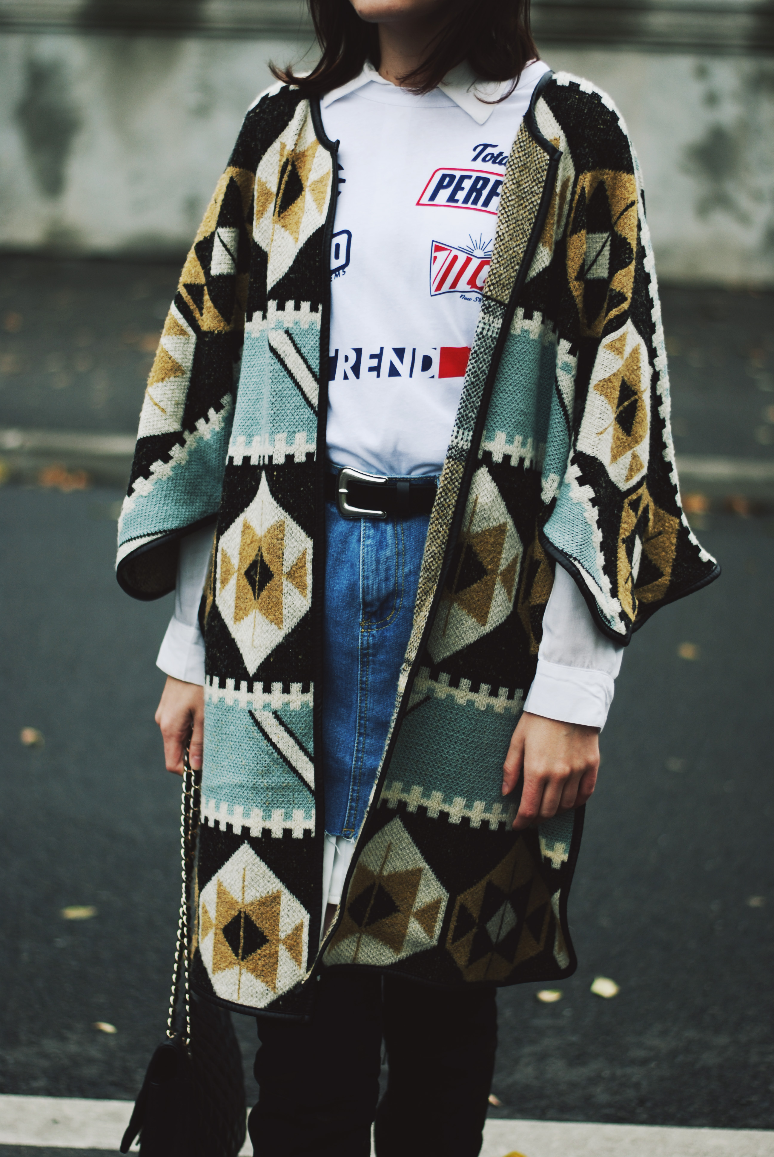 The Ultimate Guide To Wearing A Printed Cape Couturezilla