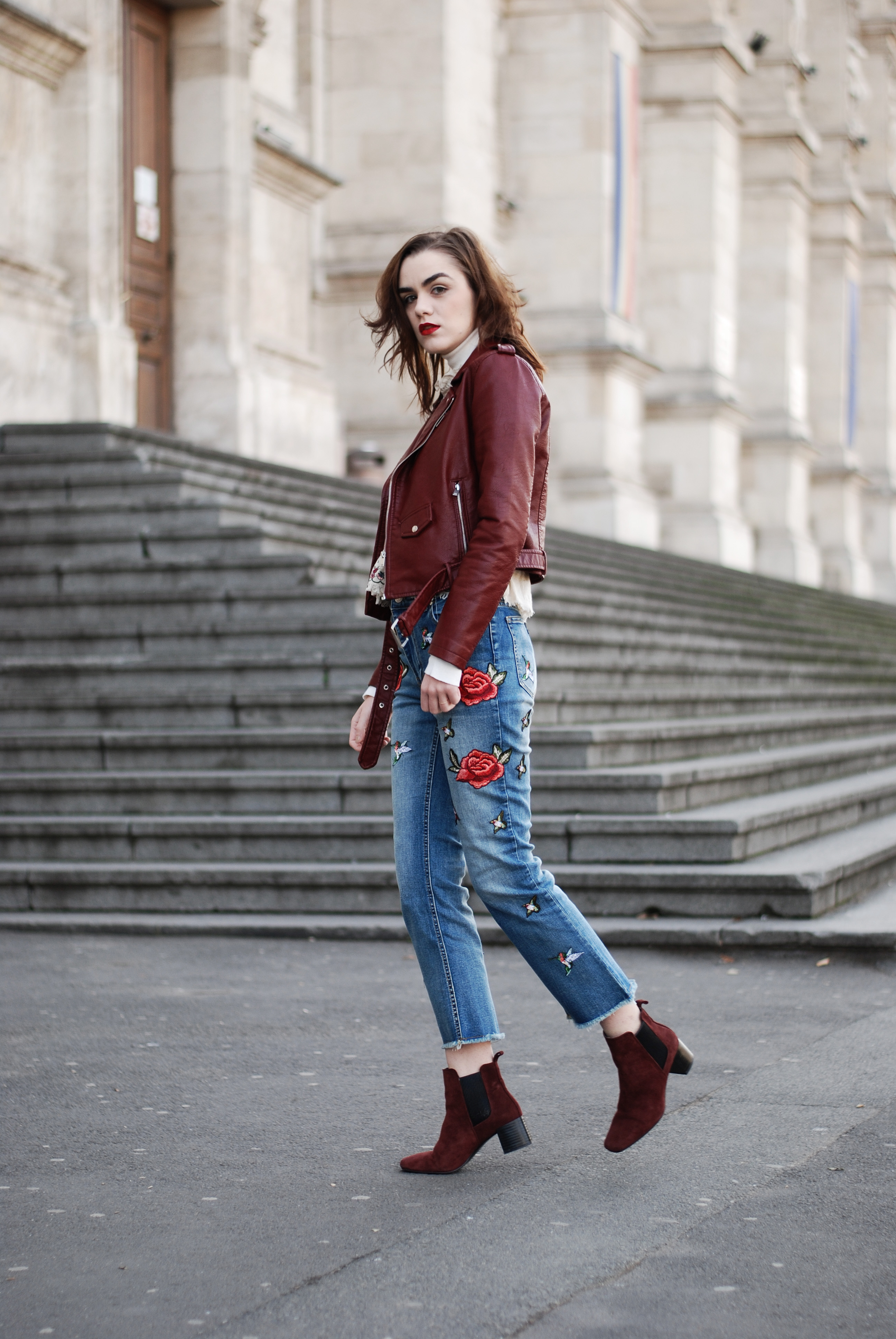 How a pair of embroidered jeans can elevate your outfit