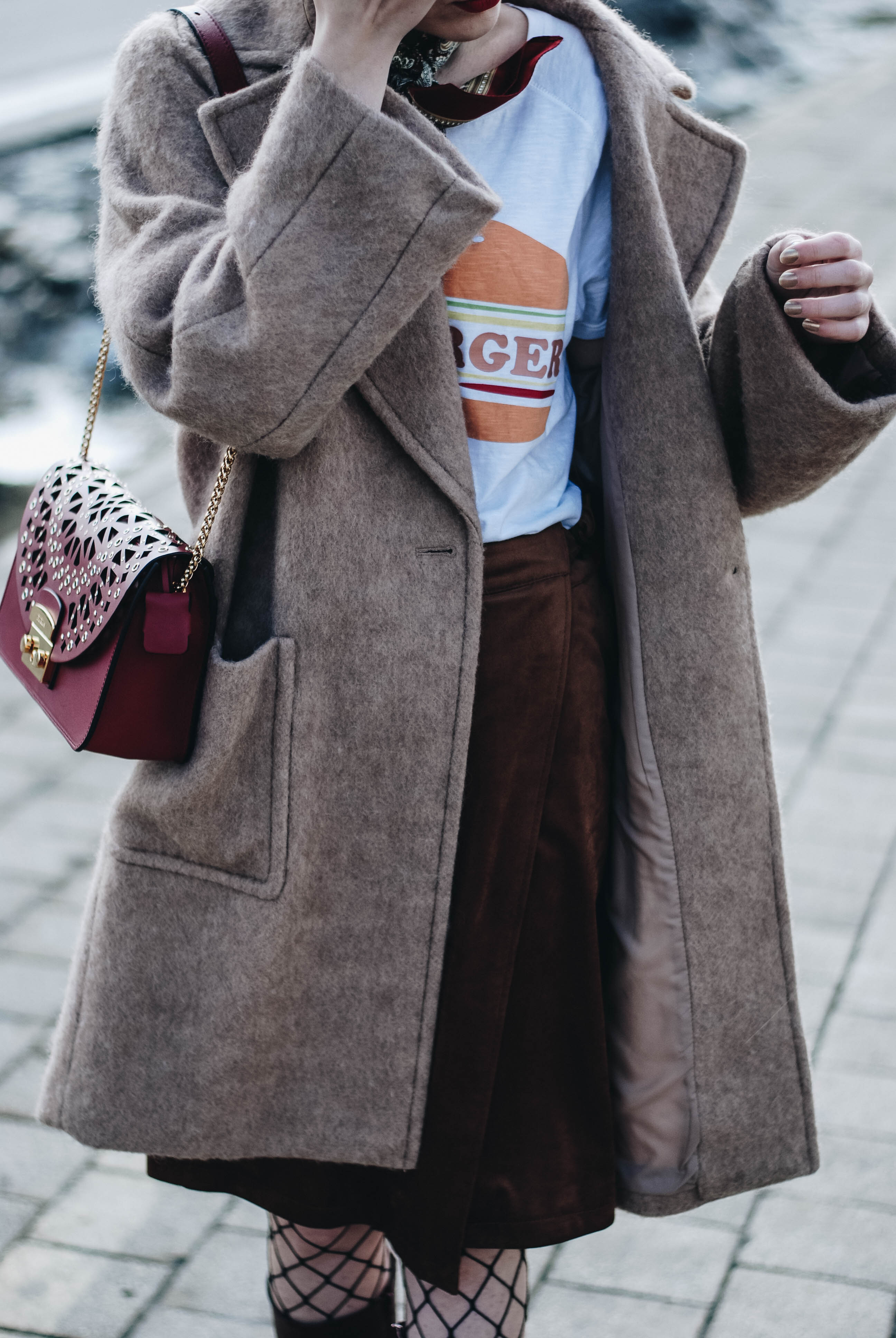 How To Wear A Wrap Skirt During Winter Couturezilla