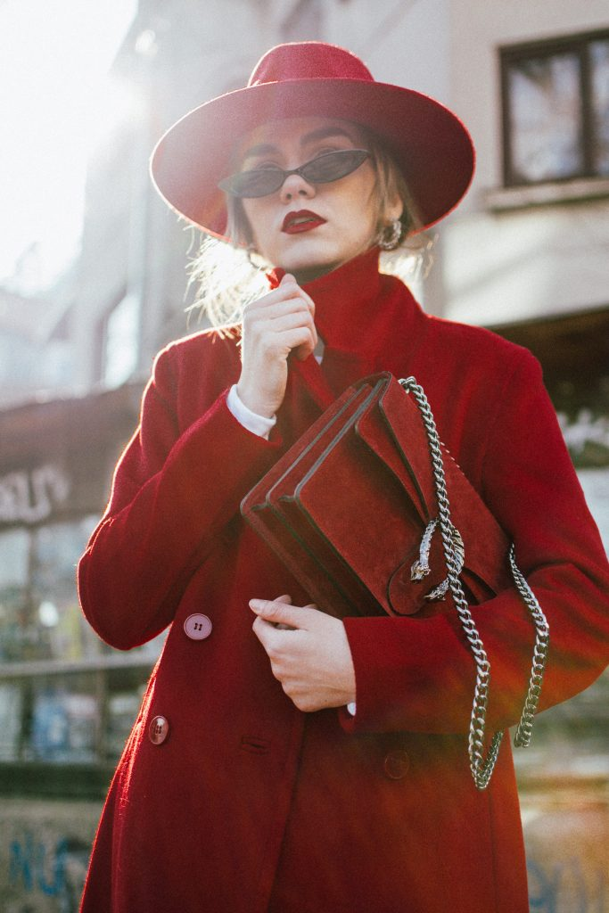Where to find the perfect red coat under 100$ u2022 Couturezilla