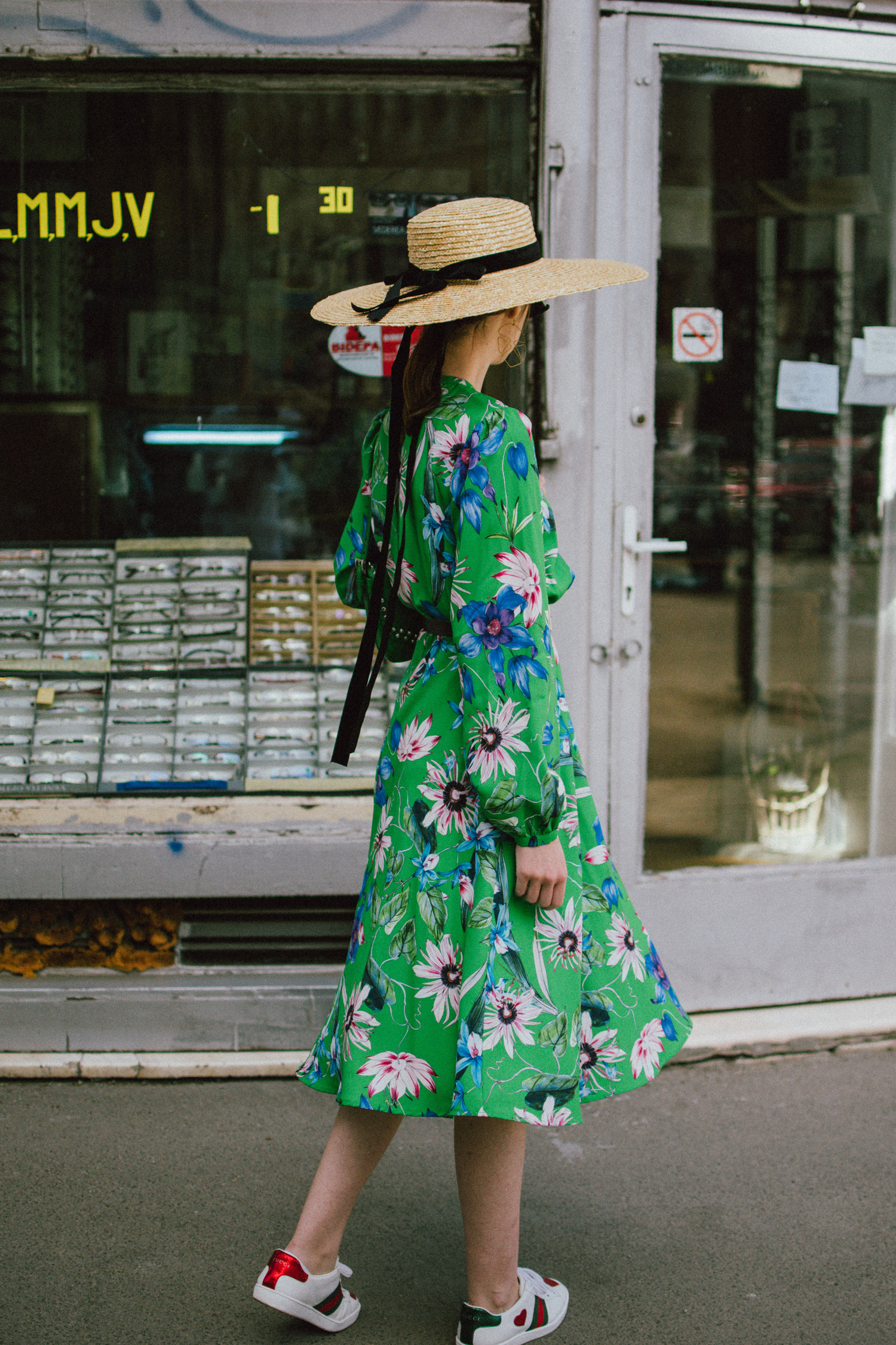 How To Style A Floral Dress Couturezilla