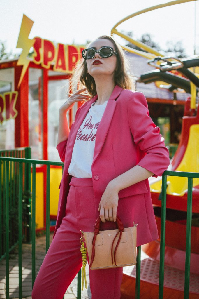 Why You Should Have A Pink Suit In Your Wardrobe