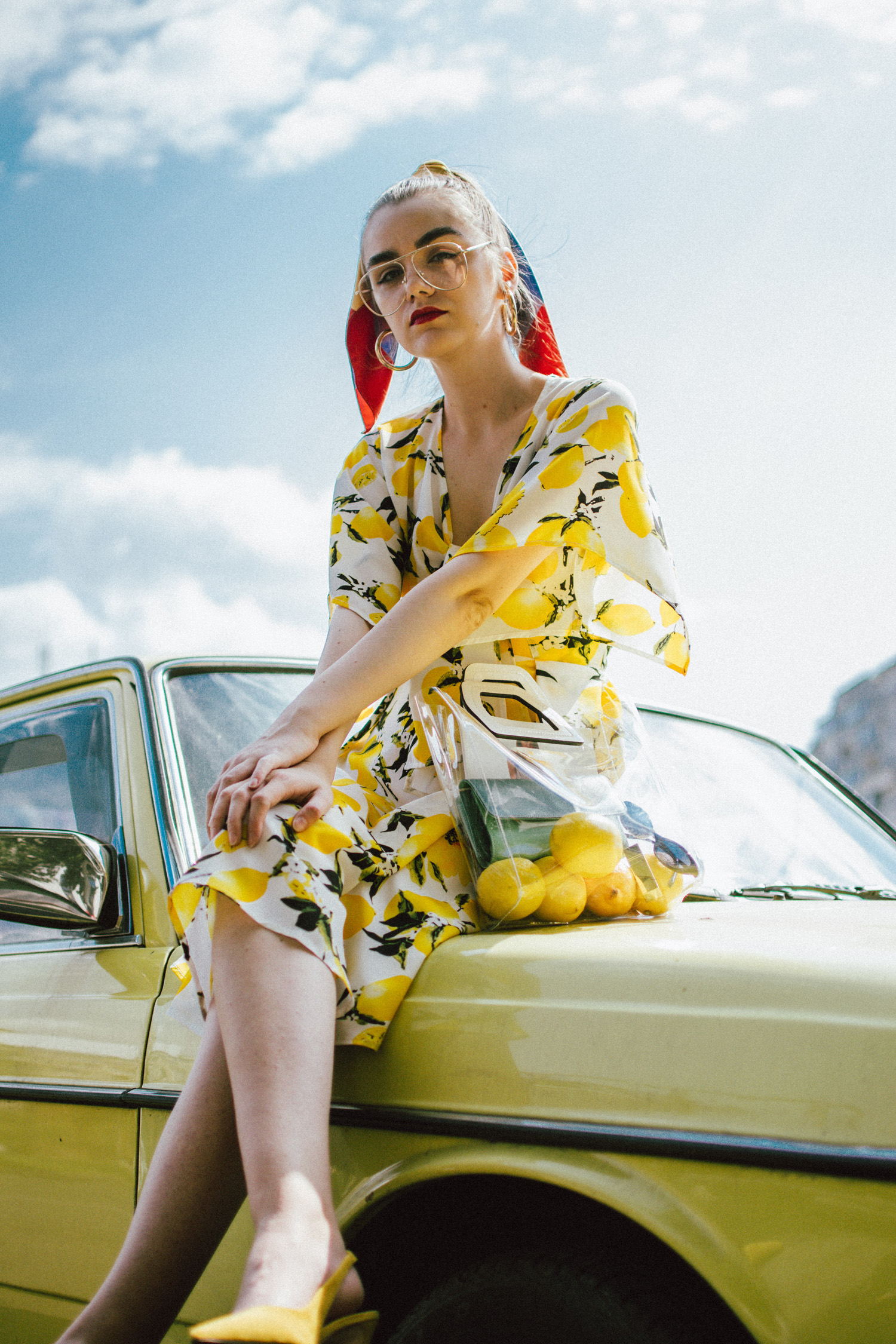 The lemon print dress you should try while it's still warm ...