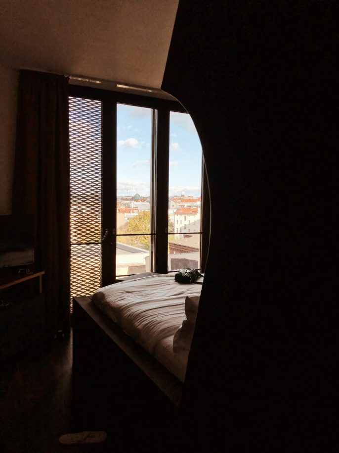 Hotel The Weinmeister Berlin Mitte Germany, Hotel review, where to stay in Berlin, andreea birsan travels, couturezilla travel diaries 2018, the coolest hotel in berlin, where to stay in berlin and have all the touristic attractions nearby, cool hotels in europe, king size bed, fancy interior, travel diary, four star hotels in berlin, hotel near alexanderplatz, the best hotels in germany, big hotel room, chic hotel, cozy and friendly staff, comfortable hotel room, vanity place, the best hotels in europe, hotel review, hotel edit, what to do in berlin germany, the best hotel to stay at in berlin, breakfast place, silent neighborhood, where to go in europe, europe travel diary, berlin hotel review, traveler, travel blogger